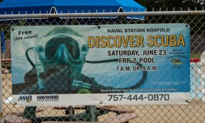 Discover Scuba Naval Station Norfolk