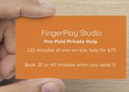 Help Punch Card