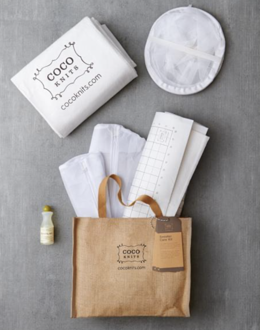 Coco Knits Sweater Care Kit
