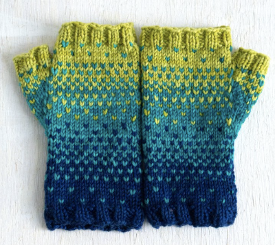 Drops of Spring Mitts Pattern only