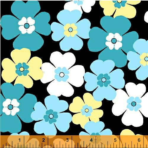Cotton - Multi Daisy