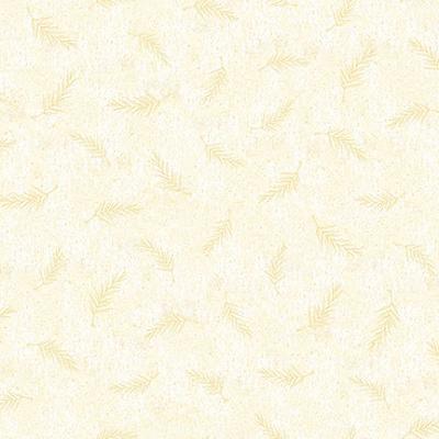 Cotton - Pine Needle Texture Ivory