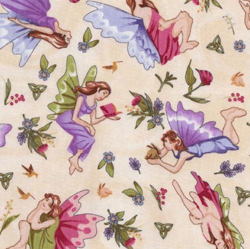 Cotton - Little Fairies Natural