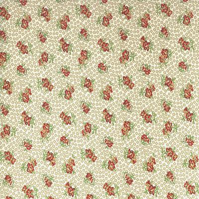 Cotton - Little Sweetheart Flowers Allover