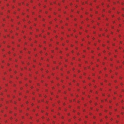 Cotton - Snow Fun Red