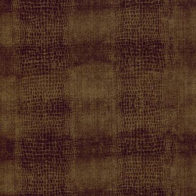 Cotton - Alligator Skin Brown