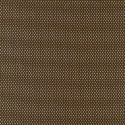 Cotton - Pin Dots Brown