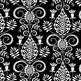 Cotton - Tonal Doozie Black