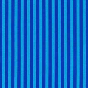 Cotton - Azure Stripe