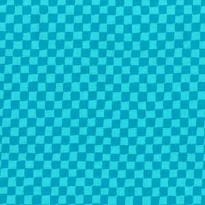 Cotton - Check Turquoise
