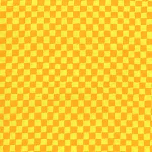 Cotton - Check Sun Yellow