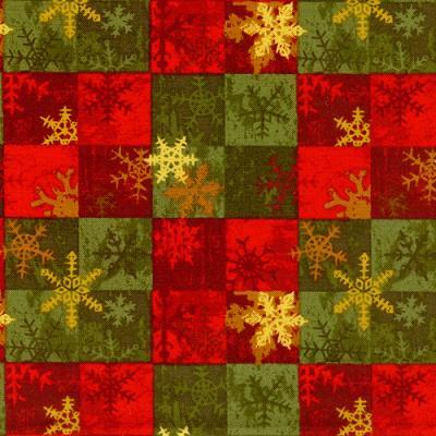 Cotton - Snowflake Tiles