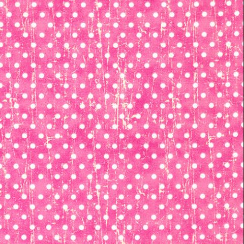 Cotton - Happy Farm Dots Pink