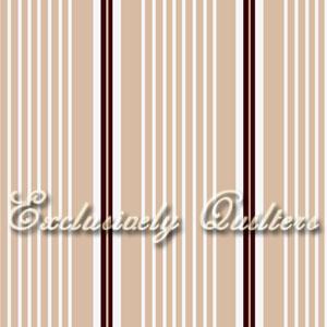 Cotton - Tan Stripe