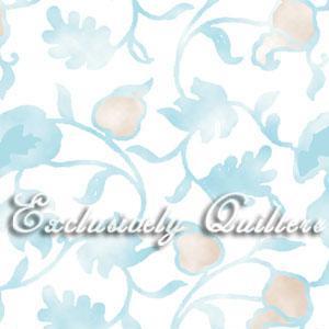 Cotton - Floral Blue