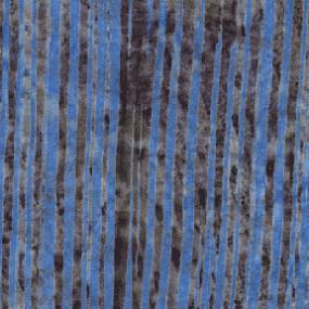 Cotton Batik - Stripes Cornflower