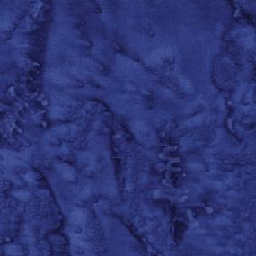 Cotton Batik - Ocean Sprays Deep Blue