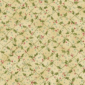 Cotton - Holly Criss Cross Cream