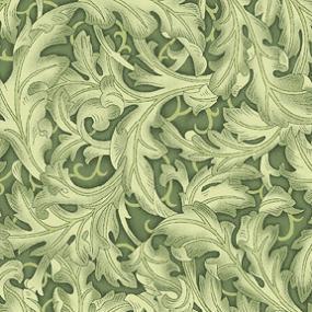 Cotton - Ancanthus Flourish Forest