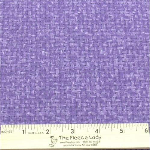 Cotton - Basket Weave Purple