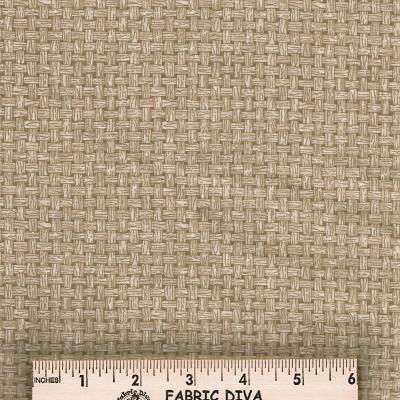 Cotton - Basket Weave Beige
