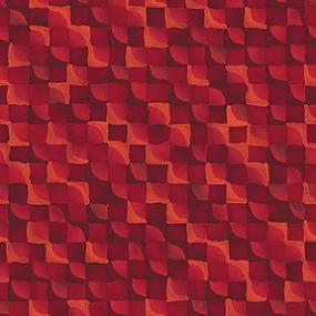 Cotton - Mini Checker Board Red