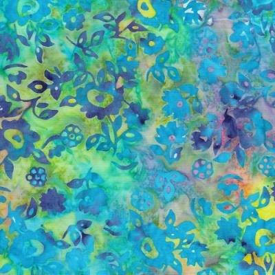 Cotton Batik - Multi Pastel