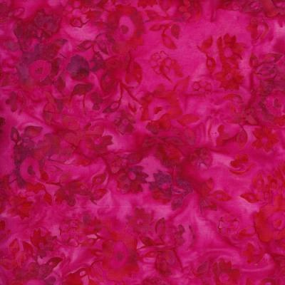 Cotton Batik - Red/Pink