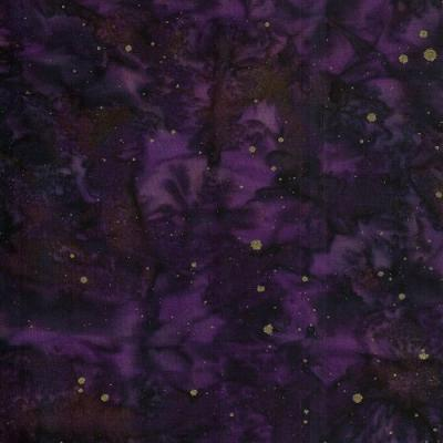 Cotton Batik - Dark Purple
