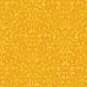 Cotton -Tapestry Gold
