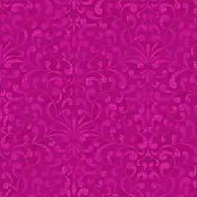 Cotton  - Tapestry Dark Cerise