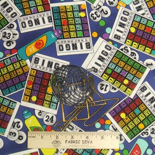 Cotton - Bingo Game Cards