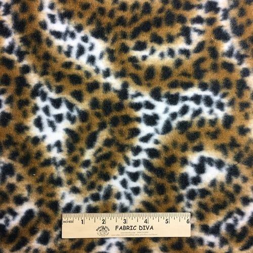 Jungle Animal Fleece Fabric