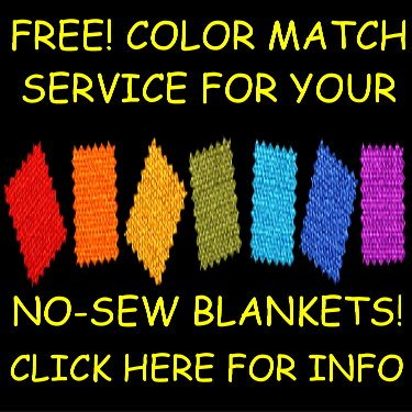 FREE! COLOR MATCH SERVICE when ordering solid fleece as part of your order