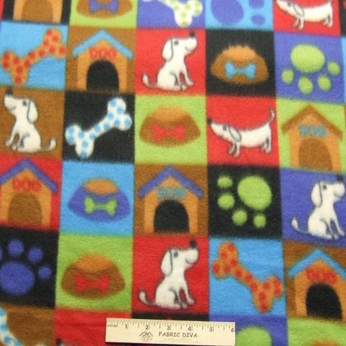 Doggy Gear Paw Print Fleece