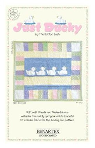 Cotton - Quilt Kit Just Ducky CHENILLE Kit SALE!