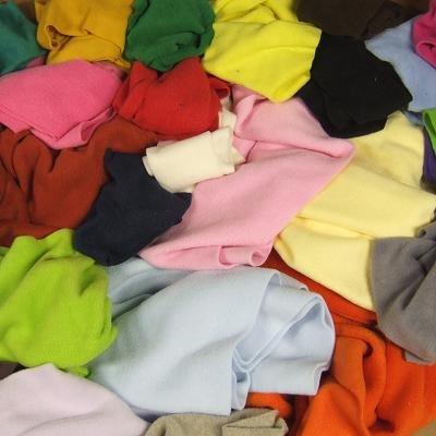 Bits & Pieces Solid Color Fleece Remnants - 7 Lbs*!!