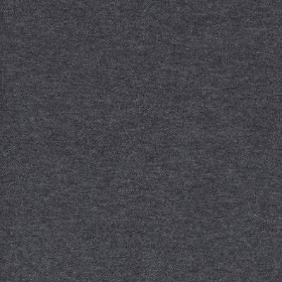 Charcoal Grey Solid Fleece Fabric