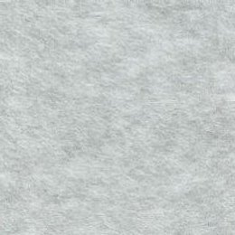 Light Heather Grey Solid Fleece Fabric
