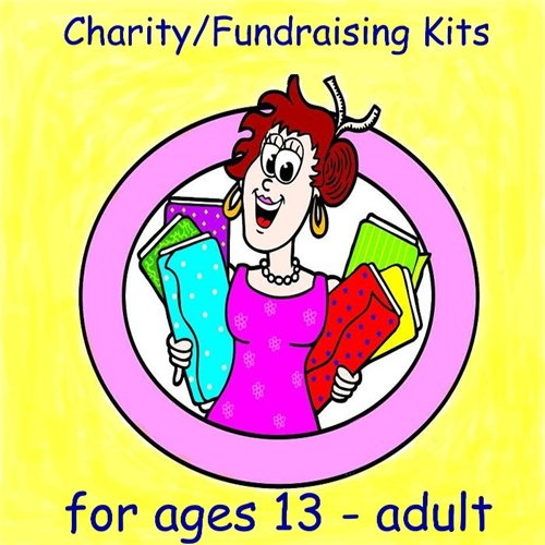 Ages 13-Adult - 1.5 Yard Baker's Dozen Fundraising or Charity Fleece Blanket Kits