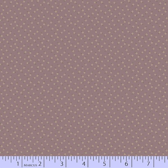 Dark dusty purple geometric