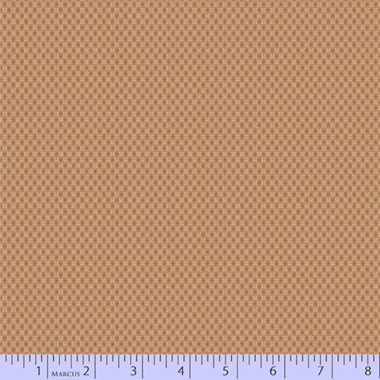 Peach oval grid