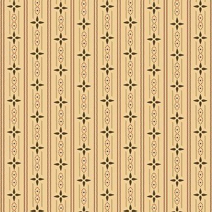 Cream wallpaper stripe