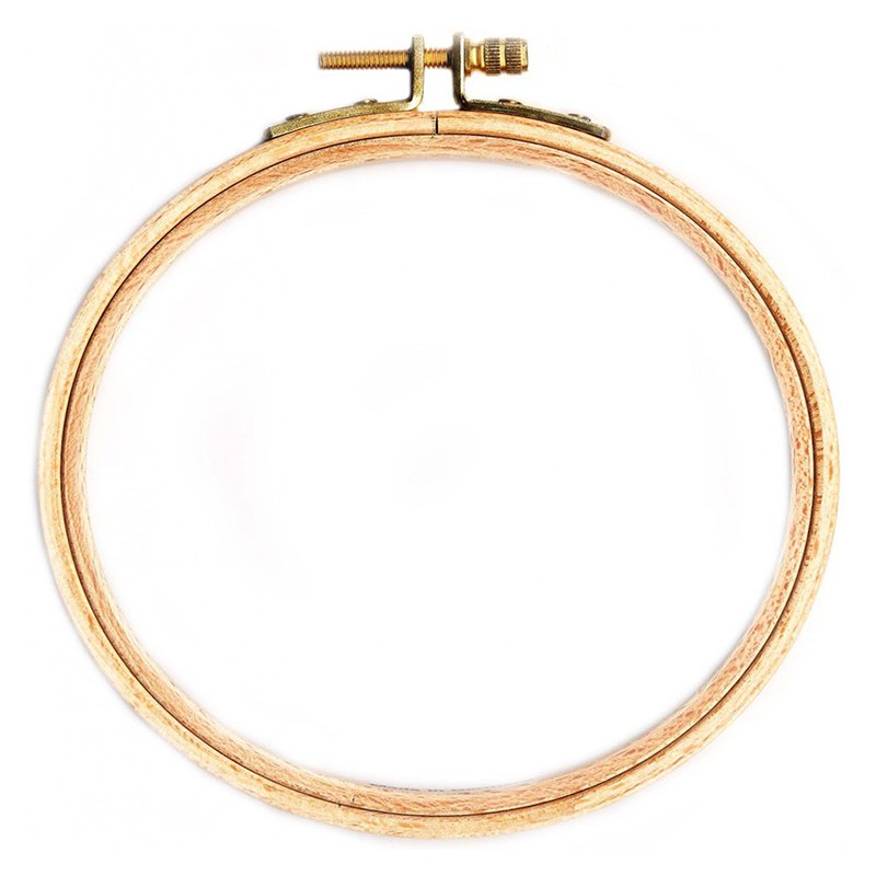 8 wooden embroidery hoop