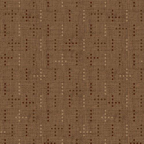 Cocoa dot weave