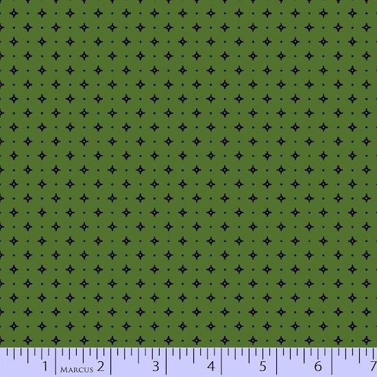 Green diamond dot
