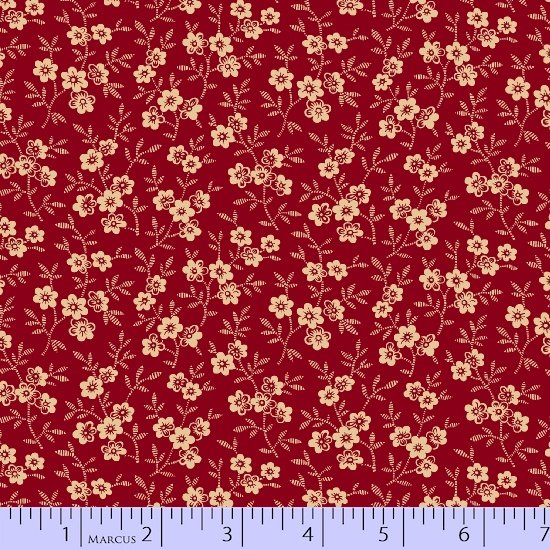 Burgundy packed floral