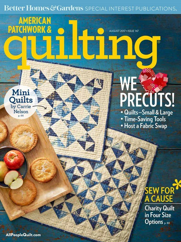 American Patchwork & Quilting, August 2017