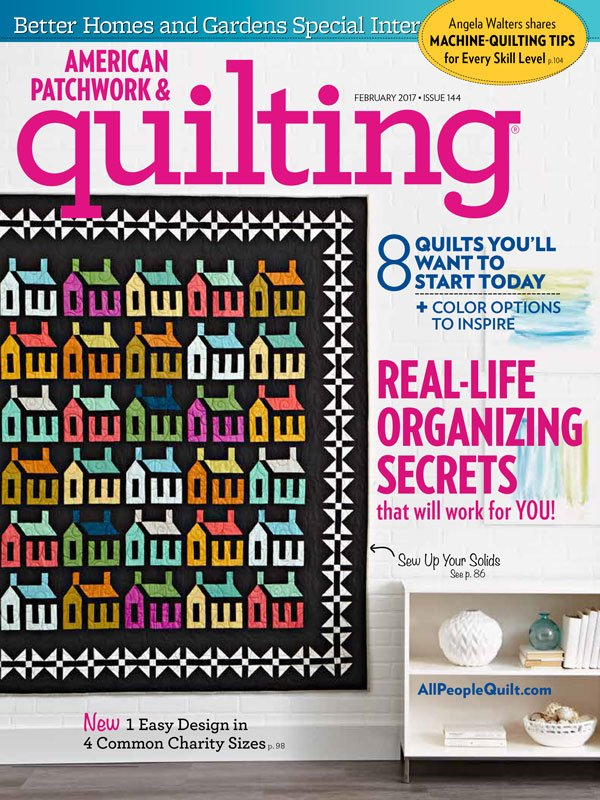 American Patchwork & Quilting, February 2017