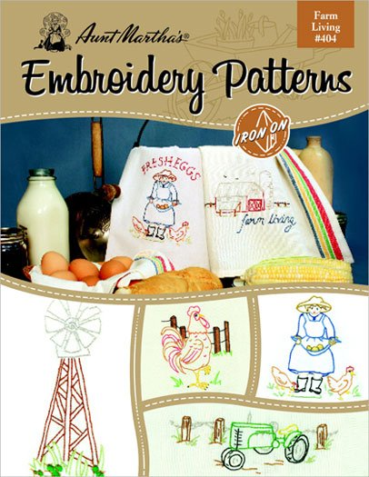 Farm Living embroidery patterns